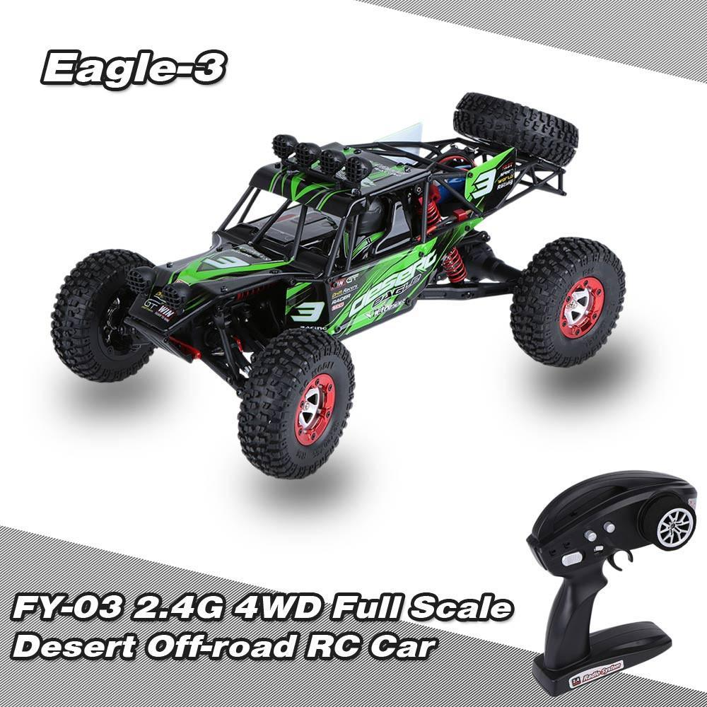 Feiyue FY03 Eagle-3 1:12 2.4G 4WD Desert Racing Off-Road RC Car-Universal Store London™