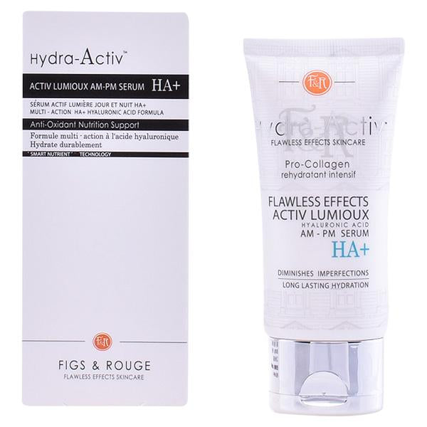 Figs & Rouge - HYDRA-ACTIV activ lumioux serum HA+ 50ml-Universal Store London™