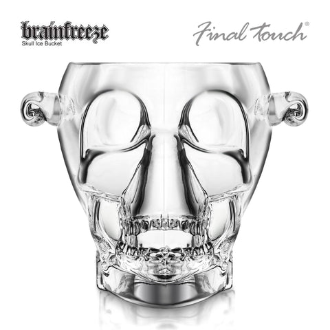 Image of Final Touch Brainfreeze Skull Ice Bucket-Universal Store London™