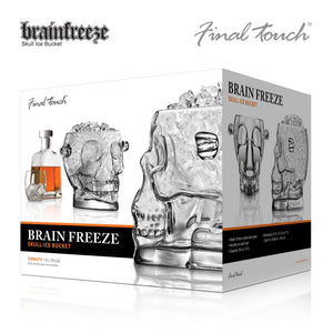 Final Touch Brainfreeze Skull Ice Bucket-Universal Store London™