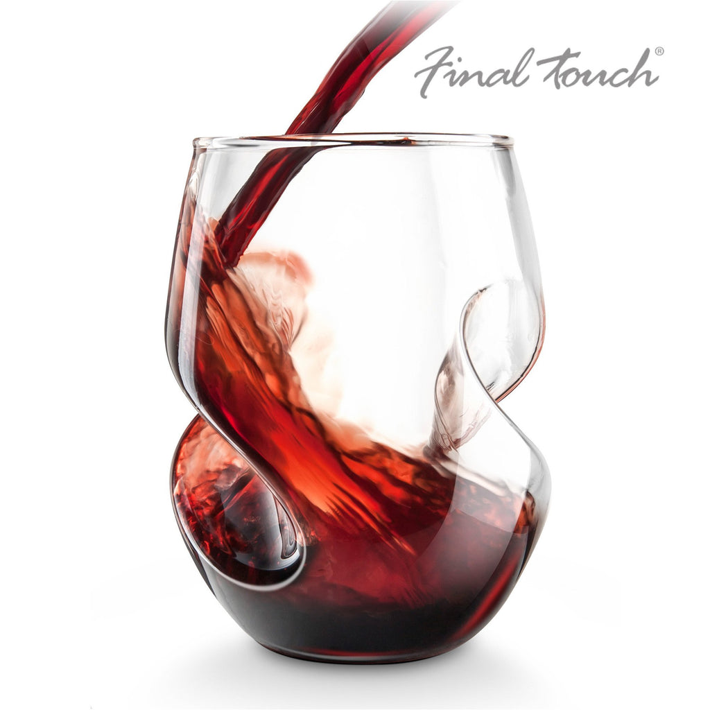 Final Touch Conundrum Red Wine Glasses - Set of 4-Universal Store London™