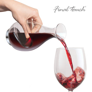 Final Touch Conundrum Wine Decanter-Universal Store London™