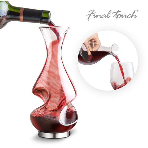Image of Final Touch Conundrum Wine Decanter-Universal Store London™