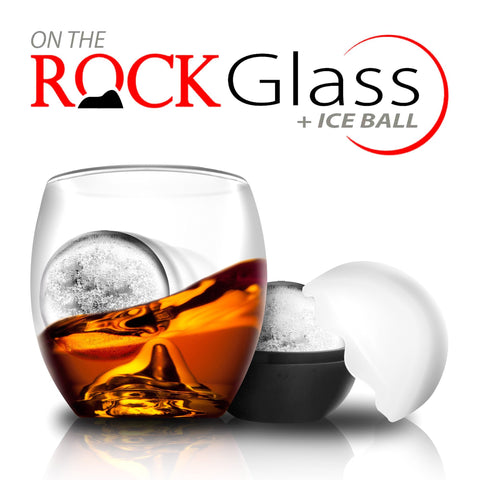 Image of Final Touch On The Rock Glass and Ice Ball-Universal Store London™