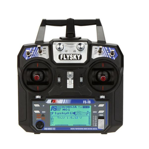 Image of FlySky FS-i6 2.4G 6CH AFHDS RC Transmitter With FS-iA6 Receiver-Universal Store London™