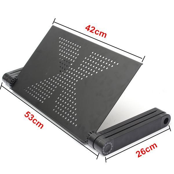 Folding Stand Laptop Notebook Reading Table with Mouse Holder-Universal Store London™