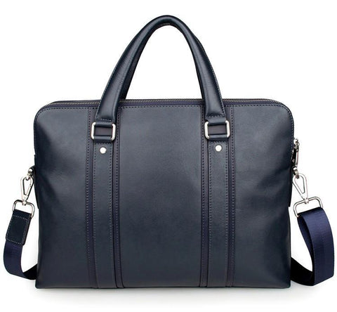 Image of 'Foxton' Business Leather Laptop Briefcase-Universal Store London™