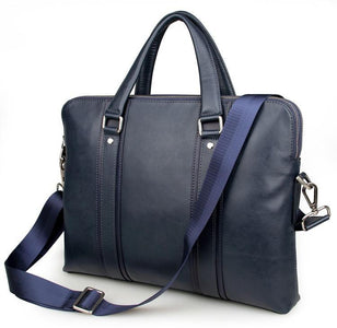 'Foxton' Business Leather Laptop Briefcase-Universal Store London™