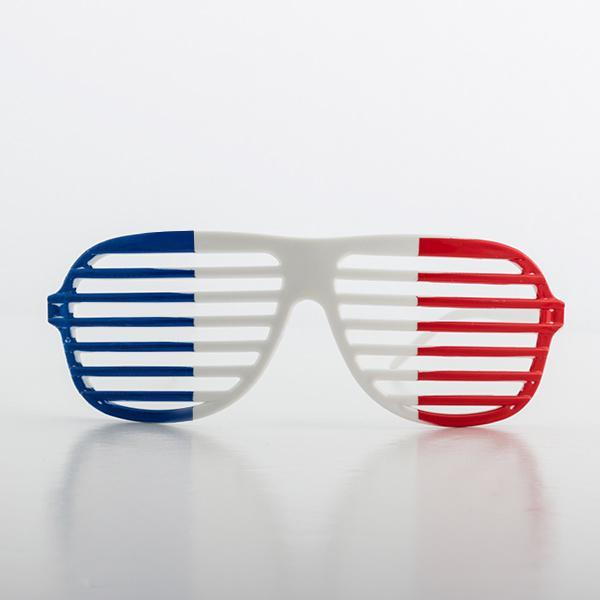French Flag Shutter Glasses-Universal Store London™