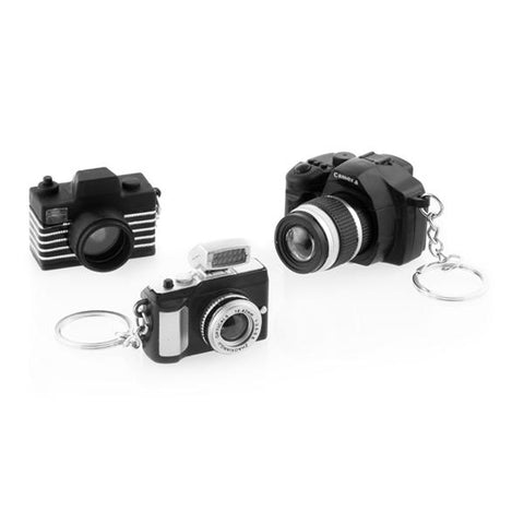 Image of Gadget and Gifts Camera Keychain with LED and Sound-Universal Store London™
