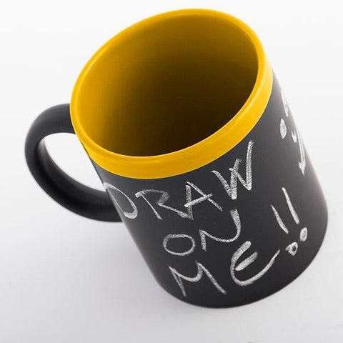 Gadget and Gifts Chalkboard Mug-Universal Store London™