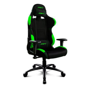 Gaming Chair DRIFT DR100BG 90-160º Cloth Foam Black Green-Universal Store London™