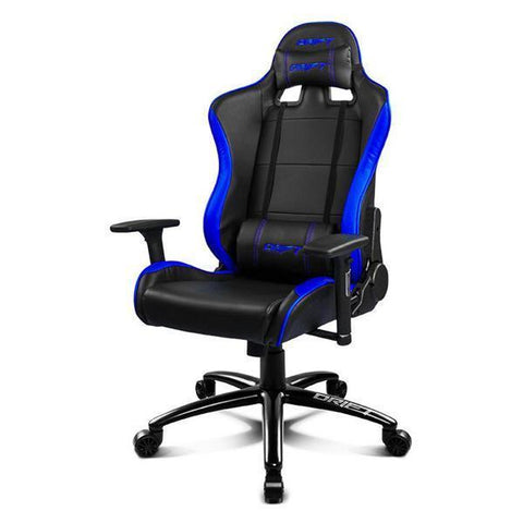Image of Gaming Chair DRIFT DR200BL 90-160º Foam PU Black Blue-Universal Store London™