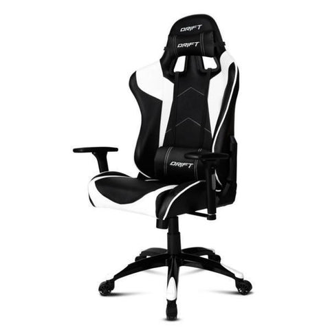 Image of Gaming Chair DRIFT DR300BW 90-160º Foam White Black-Universal Store London™