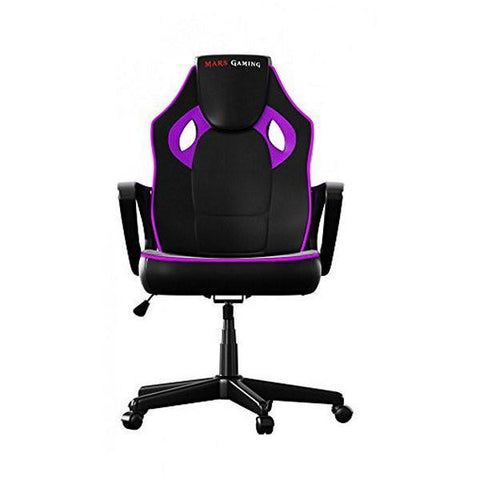 Gaming Chair Tacens MGC0BPK Metal PVC Black Pink-Universal Store London™
