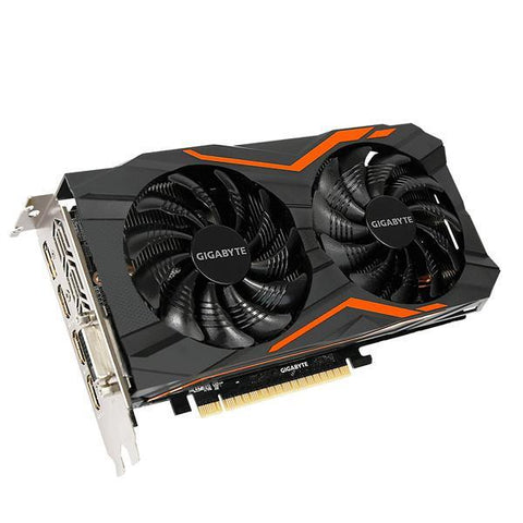Gaming Graphics Card Gigabyte VGA NVIDIA GTX 1050 Ti 4 GB DDR5-Universal Store London™