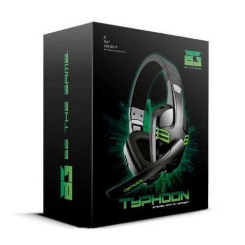 Gaming Headset B-Move BG Typhoon BG-AUD08-Universal Store London™