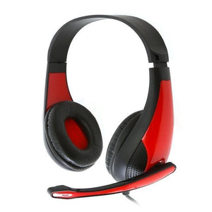 Gaming Headset Omega Freestyle FH4008R Red-Universal Store London™