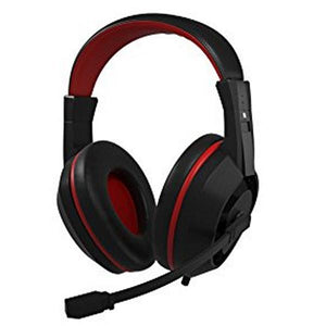 Gaming Headset with Microphone Tacens MAH0+ 32Ω 15mW Ultra Bass Black Red