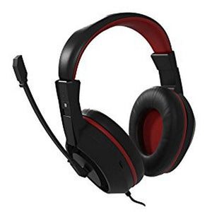 Gaming Headset with Microphone Tacens MAH0+ 32Ω 15mW Ultra Bass Black Red-Universal Store London™