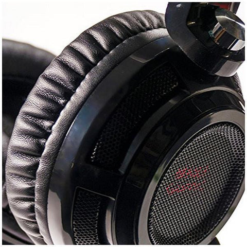 Gaming Headset with Microphone Tacens MH316 7.1 Surround USB + 40 mm Neodi Ultra Bass 32Ω 15 mW Black-Universal Store London™