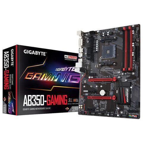 Gaming Motherboard Gigabyte GA-AB350 ATX AM4-Universal Store London™