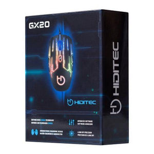 Gaming Mouse Hiditec GMO010000 4000 DPI Black