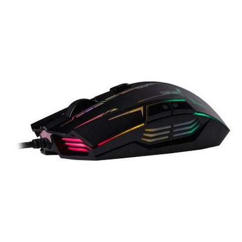 Gaming Mouse Hiditec GMO010000 4000 DPI Black-Universal Store London™