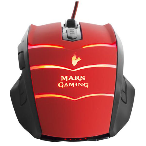 Image of Gaming Mouse Tacens MMVU1 MMVU1 USB Black Red-Universal Store London™