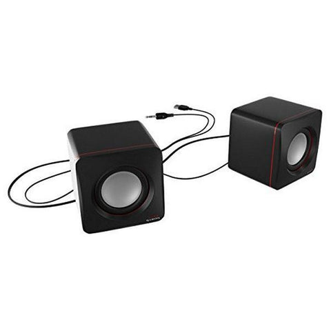 Gaming Speakers Tacens MAS0 2.0 USB 8W Black Red-Universal Store London™