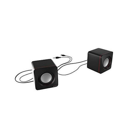 Image of Gaming Speakers Tacens MAS0 2.0 USB 8W Black Red-Universal Store London™