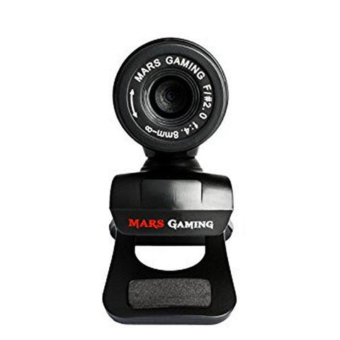 Gaming webcam Tacens Mars MW1 HD 720p Clip Black-Universal Store London™