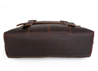 Genuine Leather Briefcase Messenger Bag-Universal Store London™