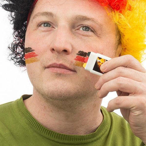 Image of German Flag Face Paint-Universal Store London™