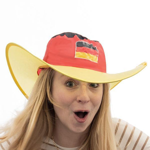 Image of German Flag Foldable Hat-Universal Store London™