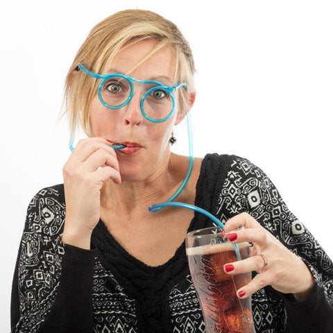 Image of Glasses Drinking Tube-Universal Store London™