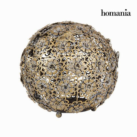 Gold flower and butterfly ball - Art & Metal Collection by Homania-Universal Store London™