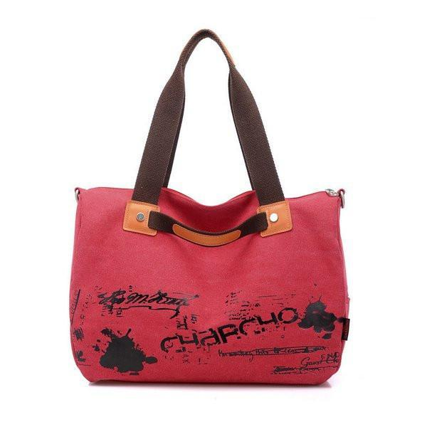 Graffiti Canvas Handbag Shoulder Bag Cross Body Bag-Universal Store London™