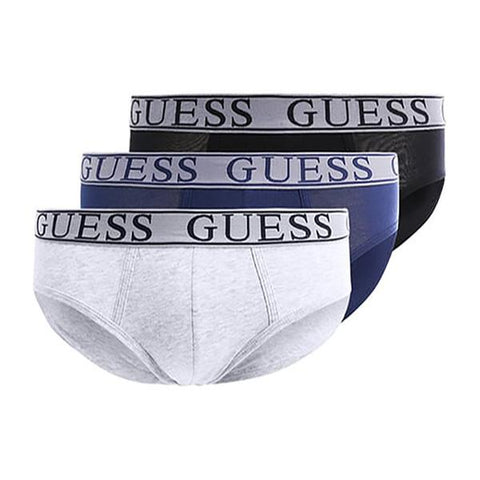 Guess U77G02-JR014-F953N Men's Briefs (Pack of 3)-Universal Store London™