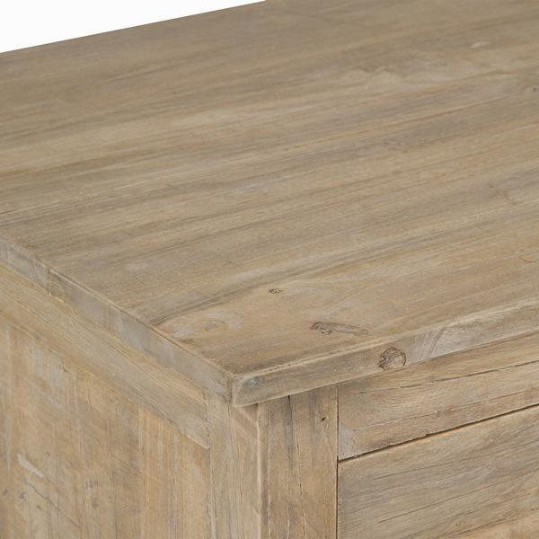 Hallway table with 2 drawers - Pure Life Collection by Craften Wood-Universal Store London™