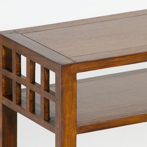 Image of Hallway table with colonial mirror - Serious Line Collection by Craften Wood-Universal Store London™
