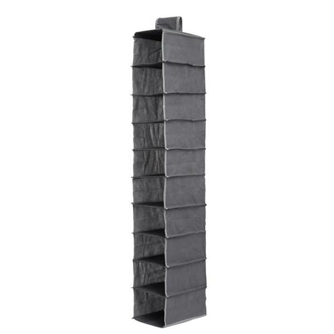 Hanging Clothes Organiser (10 compartments)-Universal Store London™