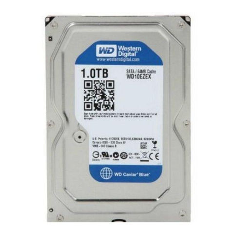"Hard Drive Western Digital Blue WD10EZEX 3.5"" 1 TB Sata III 7200 rpm Buffer 64 MB-Universal Store London™"