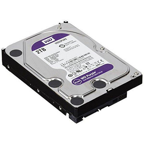 Hard Drive Western Digital Purple WD20PURZ 2 TB SATA III 64 MB Purple-Universal Store London™