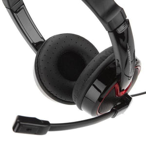 Headphones with Microphone NGS VOX340DJ Black Headband-Universal Store London™