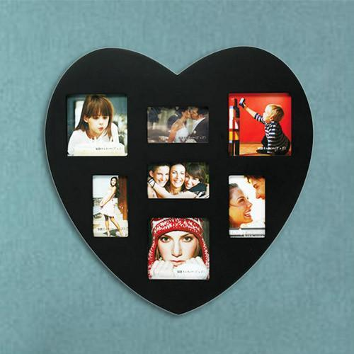 Heart-Shaped Wooden Frame 7 Photos-Universal Store London™