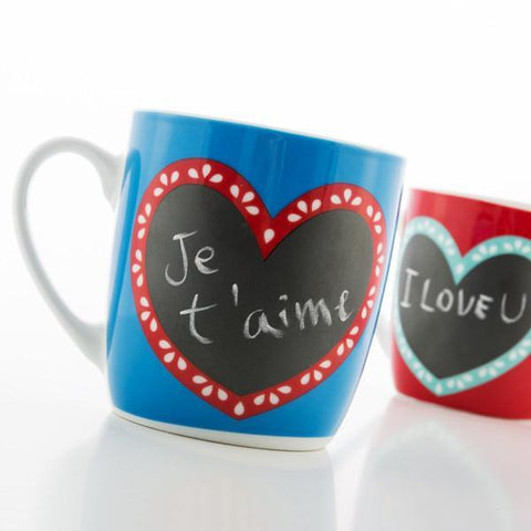 Image of Hearts Slate Mug-Universal Store London™