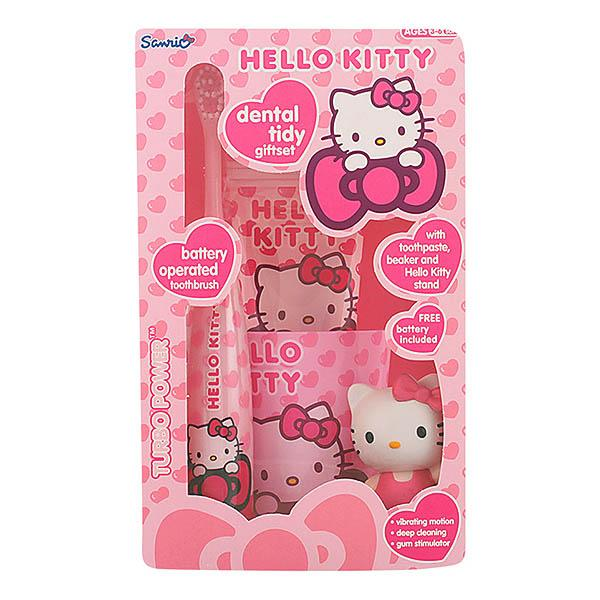 Hello Kitty - HELLO KITTY DENTAL TIDY LOTE 4 pz-Universal Store London™