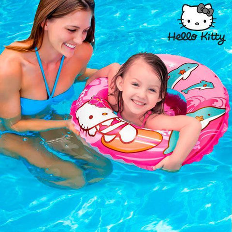Image of Hello Kitty Inflatable Rubber Ring-Universal Store London™