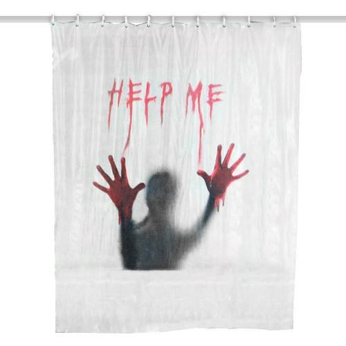 Help Me Shower Curtain-Universal Store London™